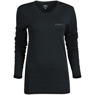Active Comfort Roundneck LS W BLACK