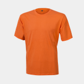 Basic Tee Line One Orange