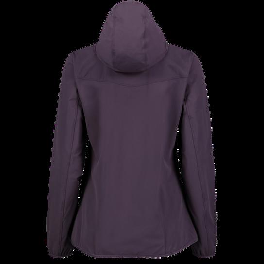 Haglöfs Apex Hood Jacket, naisten softshelltakki Valkoinen