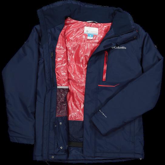 Columbia Ride On™ Jacket, laskettelutakki, miesten Sininen