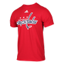 NHL PRIMARY  LOGO TEE SR-18 CAPITALS