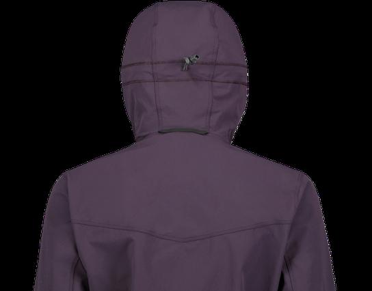 Haglöfs Apex Hood Jacket, naisten softshelltakki Punainen