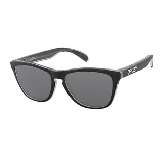 Frogskins Eclipse Clear w/Black Iridium 18/19, unisex aurinkolasit