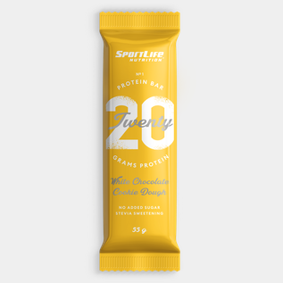 Sportlife Twenty Protein Bar 55G White chocolate cook