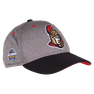 NHL CAP  GLOBAL SERIES TWO TONE STRUCTURED ADJUSTABLE Grey/Black Senators